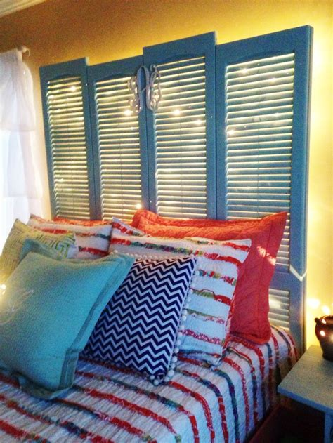 Where Can I Buy A Headboard For My Bed by Diy Shutter Headboard My Made This Headboard For Me