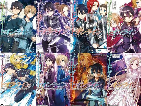 sao light novel sao alicization light novel review anime amino