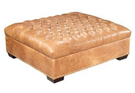 Oversized Tufted Ottoman by Oversized Chesterfield Tufted Square Leather Cocktail
