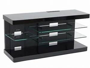 Meuble Tv En Hauteur : meuble tv 80 cm haut ~ Teatrodelosmanantiales.com Idées de Décoration