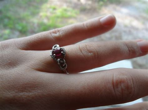 my ruby engagement ring show me your colored rings