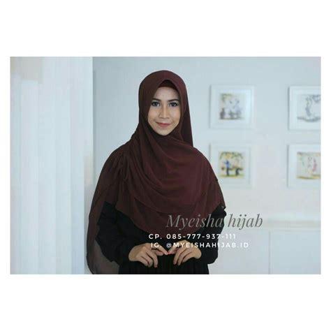 jilbab bergo hijab instan kerudung terbaru tutorial