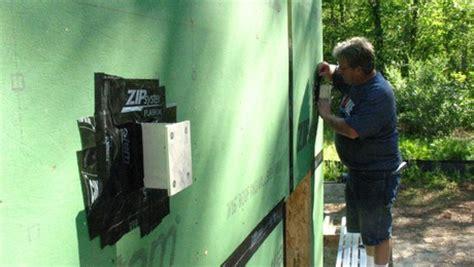 Maine Deck Bracket Spacing by Deck Brackets Space Ledger Wall Homebuilding