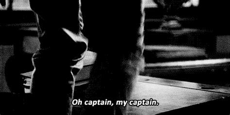 dead poets society  captain  captain gif wifflegif