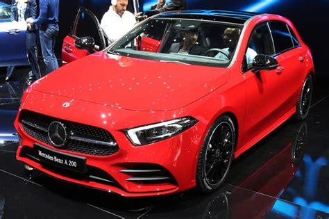 peugeot paris new mercedes a class pictures auto express