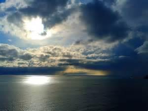 Storm Clouds Blue Sky