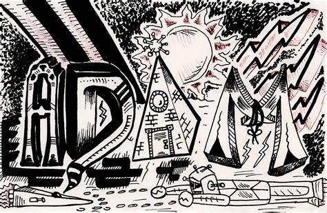 Grafiti Nama Adam : Graffiti Letters By Theadrock On Deviantart
