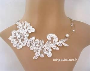 bijoux dentelle mariage la boutique de maud With robe de mariage avec acheter bijoux