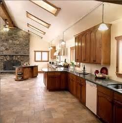 kitchen tile ideas floor terra cotta tile kitchen decobizz com