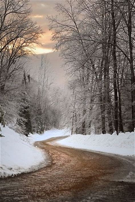 snowy road pictures   images  facebook