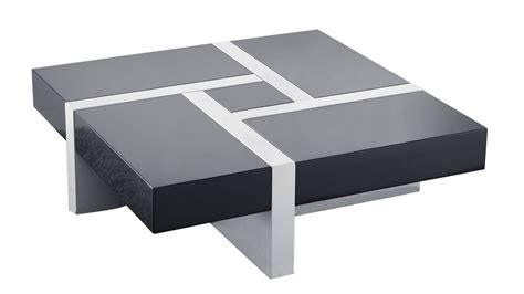 deco chambre noir et blanc table basse design la table basse design 4 tiroirs