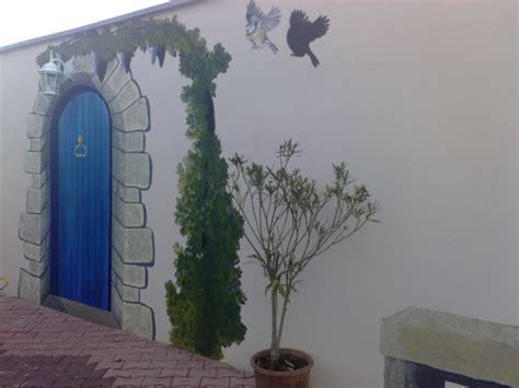 pour la cuisine fresque sur mur extérieur