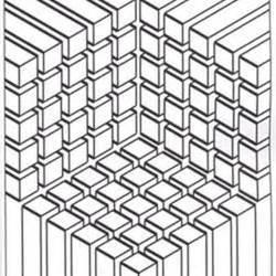 optische illusionen ausmalbilder fuer erwachsene kostenlos