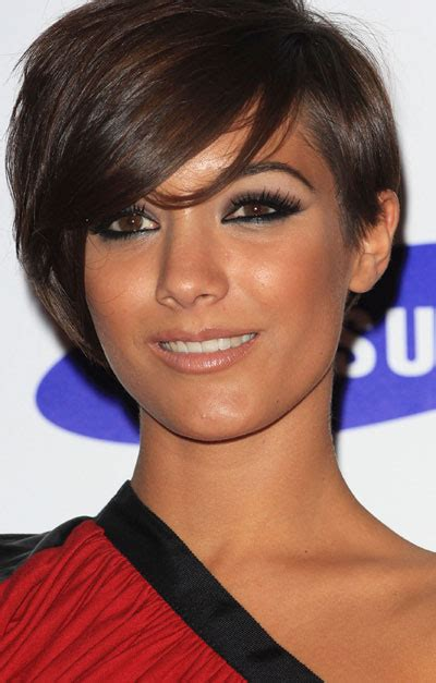 frankie sandford celebrity short hairstyles