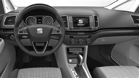 seat alhambra  dimensions boot space  interior