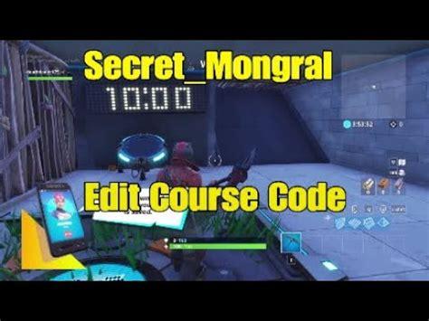 secretmongral edit  code  description youtube