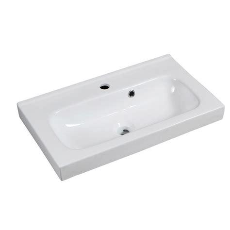plan vasque simple remix c 233 ramique 61 0 cm leroy merlin