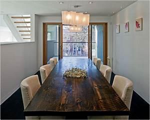 Salle A Manger Moderne : salle a manger moderne bois massif deco maison moderne ~ Teatrodelosmanantiales.com Idées de Décoration