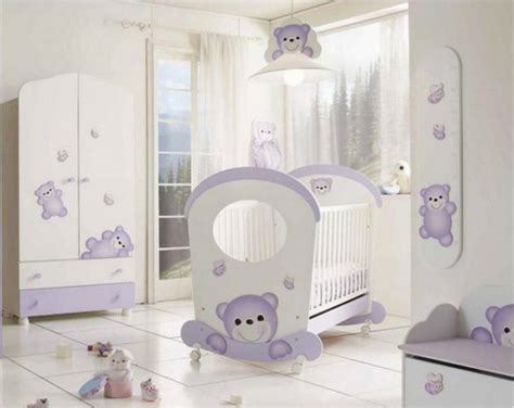 babyzimmer lila