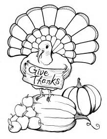 free coloring pages of turkey dinner