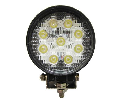 bright 27w high power led work light for truck suv