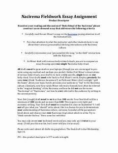 Body ritual among the nacirema essay 5 paragraph written essay body