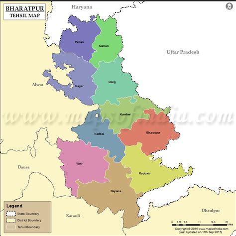 bharatpur tehsil map bharatpur tehsils
