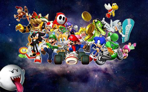 Mario and Sonic Galaxy