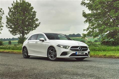 Petrol, hatchback from £34,400 rrp. Mercedes-Benz A CLASS HATCHBACK A250e AMG Line Premium Plus 5dr Auto Lease Deals
