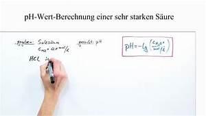 Ph Wert äquivalenzpunkt Berechnen : ph wert berechnung sehr starker s uren chemie online lernen ~ Themetempest.com Abrechnung