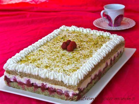 framboisier pistache mascarpone paperblog
