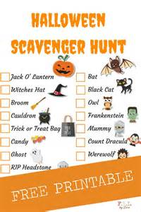 Pumpkin Patch Alabama by Halloween Scavenger Hunt Free Printable Fyi By Tina