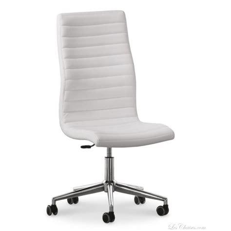 chaise blanche de bureau le monde de l 233 a