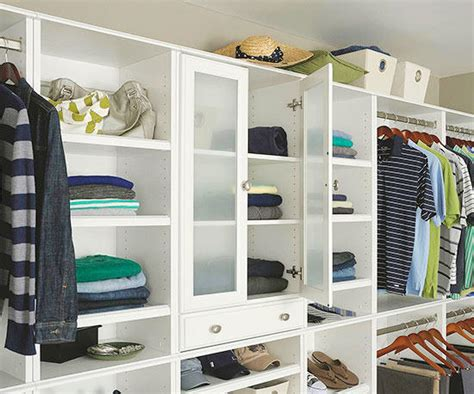 Small Room Walk In Closet by Small Walk In Closet Design Ideas Better Homes Gardens