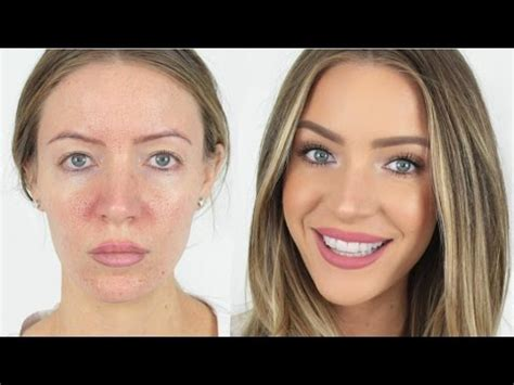 minute full face makeup routine stephanie lange youtube