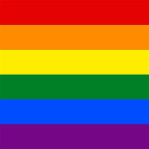 lgbt flag colors file lgbt flag square svg wikimedia commons