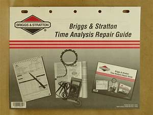 2001 Briggs Stratton Time Analysis Repair Maintenance
