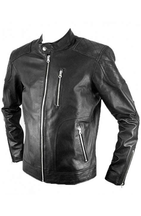 genuine leather motorcycle jacket genuine retro jacket mens biker leather jacket