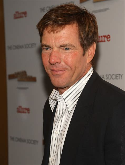 dennis quaid personality dennis quaid in the cinema society hosts a screening of