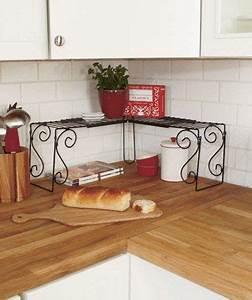 Kitchen, Counter, Corner, Shelf