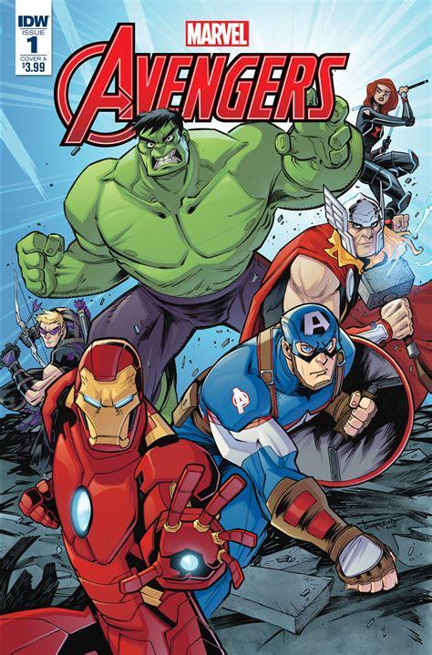 Marvel Action: Avengers #1 | IDW Publishing
