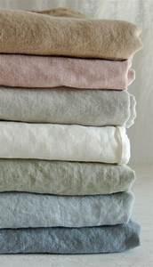 Housse De Couette En Lin : le linge de lit en lin la parure de lit cosy et ~ Melissatoandfro.com Idées de Décoration