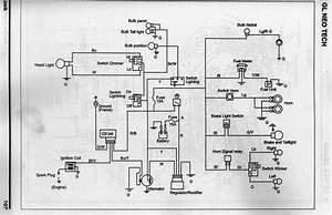 Wiring Diagram  Rangkaian Kabel  Kelistrikan Sepeda Motor