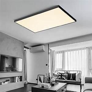 Dbf Square Led Ceiling Light Modern Lamp Living Room