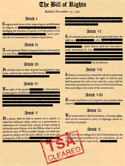 Tenth Amendment Center  Bill Of Rights The Founders