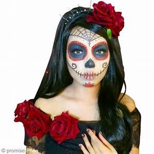 Maquillage Squelette Facile : diy maquillage halloween f te des morts mexicaine ~ Dode.kayakingforconservation.com Idées de Décoration