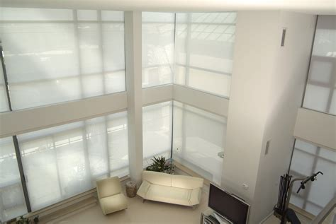 motorized roller blinds practical motorized roller shades home ideas