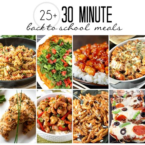 cuisine minute 25 back to meals in 30 minutes or less domestic
