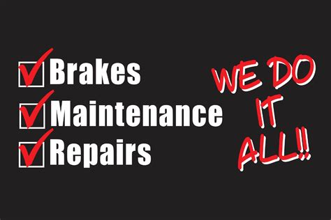 auto repair shop slogans brakes  oil change auto