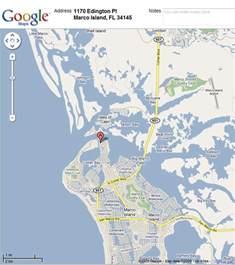 Marco Island Florida Map